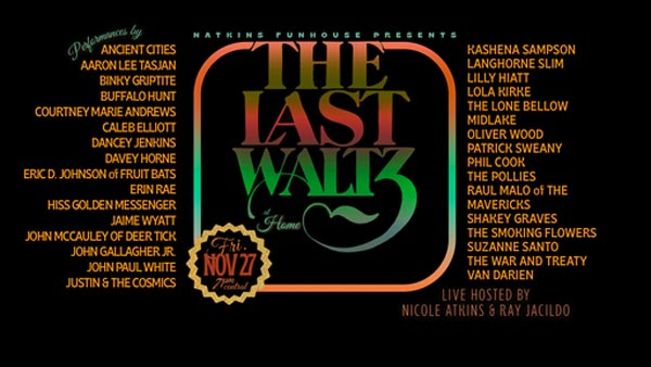 Natkins Funhouse Presents: The Last Waltz At Home