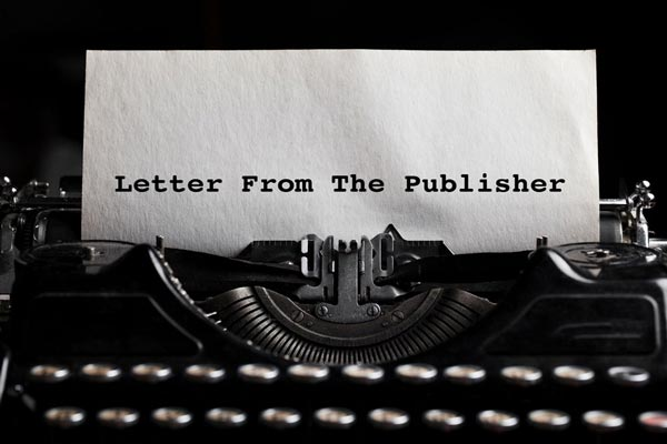 Letter From The Publisher: The Final Issue