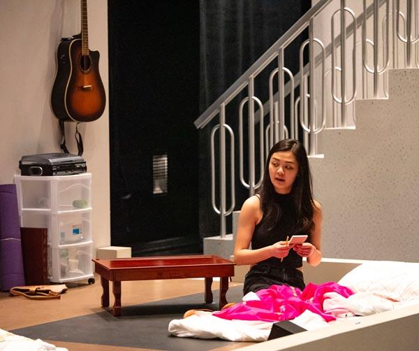 "Lewis Center for the Arts Presents ""Sister Mok-rahn"""