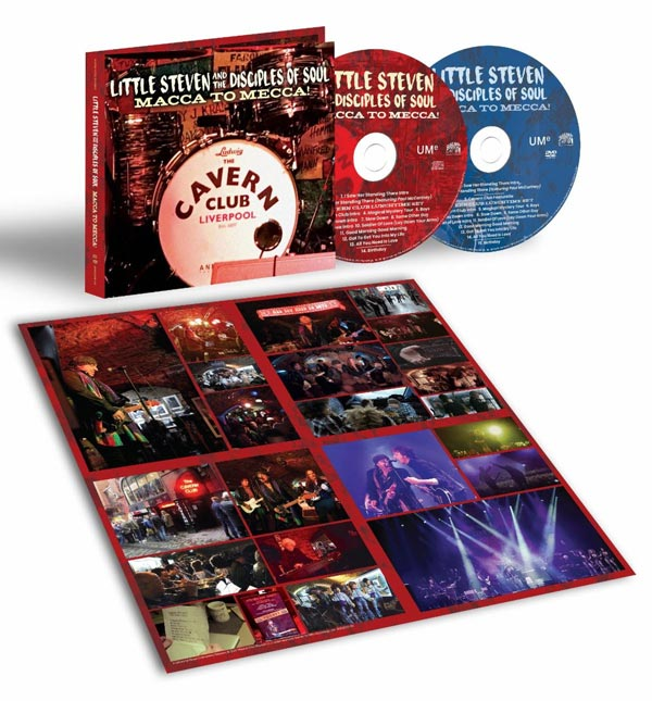 """Little Steven To Release """"Macca To Mecca"""" and Expanded """"Soulfire Live!"""""""
