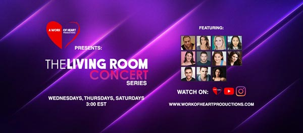 """A Work of Heart Productions Presents: """"The Living Room Concert Series"""""""