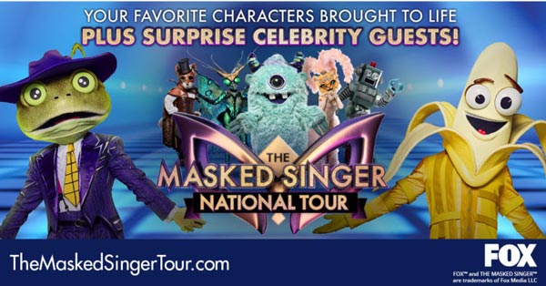 The Masked Singer National Tour Comes to NJPAC and The Met