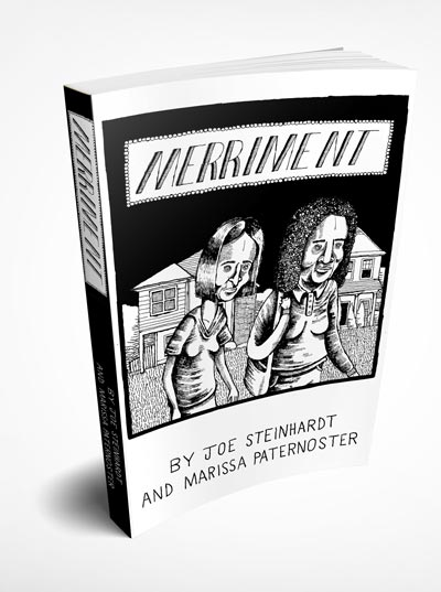 Marissa Paternoster of Screaming Females illustrates graphic novel by Don Giovanni Records' founder Joe Steinhardt