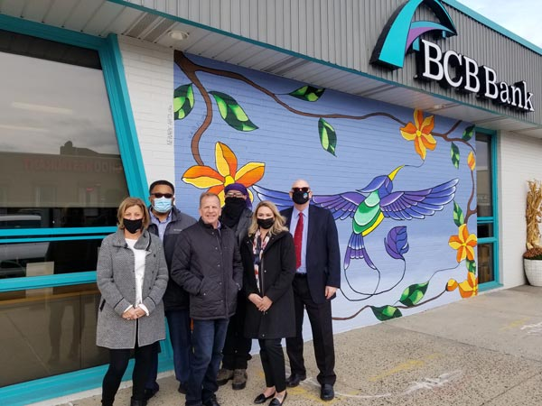 BCB Bank Gifts Ironbound New Mural From Jo-El Lopez