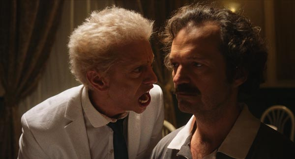 Maverick Moore's crazy short My Dinner With Werner will be screened at the New Jersey Film Festival on Saturday, October 3, 2020