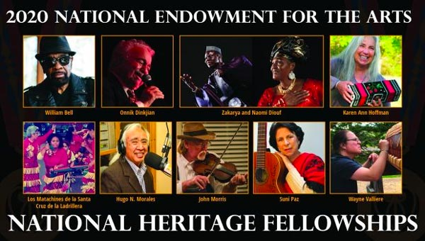 Onnik Dinkjian Of Fort Lee Is Part Of The 2020 National Heritage Fellowship Class