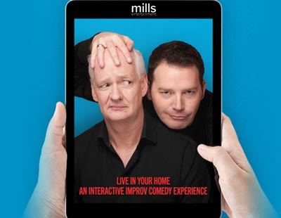 NJPAC Presents Colin Mochrie and Brad Sherwood In An Interactive Virtual Performance