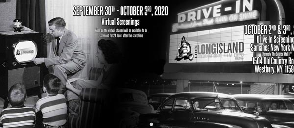 The 23rd Annual Long Island International Film Expo to Show Virtual and Drive-In Movies, September 30 - Oct 8