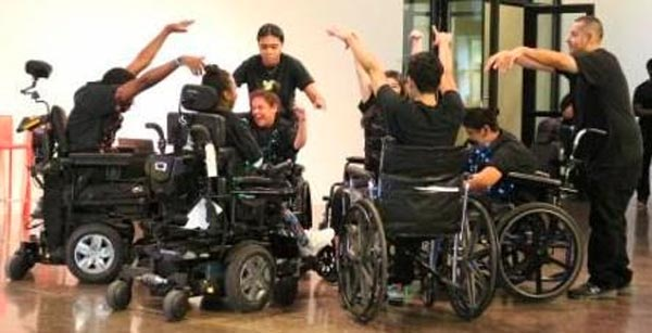 The Nai-Ni Chen Dance Company & Dancing Wheels ZOOM Into The Classroom Together