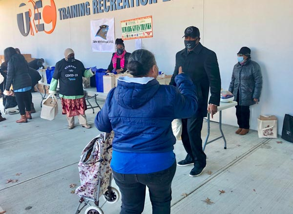 Newark Distributes Nearly 6,000 Turkeys To City Residents