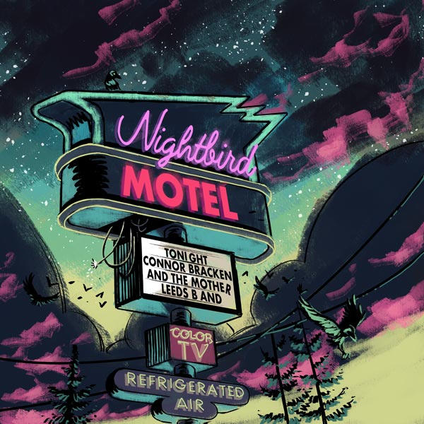 "Makin Waves Record of the Week: ""Nightbird Motel"" by Connor Bracken and the Mother Leeds Band"