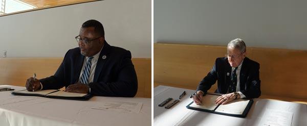 Ocean County College, Kean University Partnership Agreement Amended