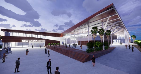 A New State-Of-The-Art Sports and Entertainment Arena Coming To Downtown Palm Springs