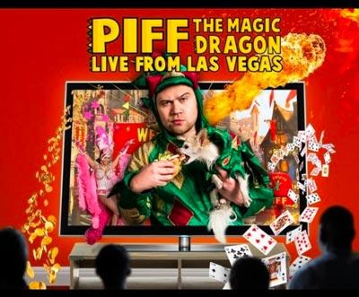NJPAC Presents Piff The Magic Dragon: Live From Las Vegas