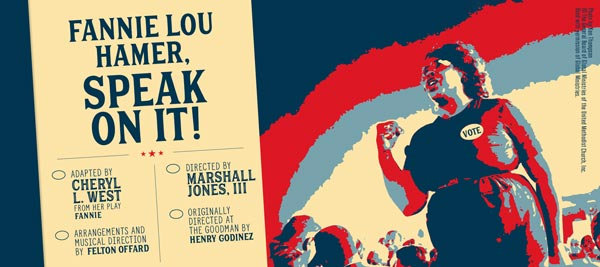 Premiere Stages Returns to Live Programming with Cheryl L. West's Fannie Lou Hamer, Speak On It!