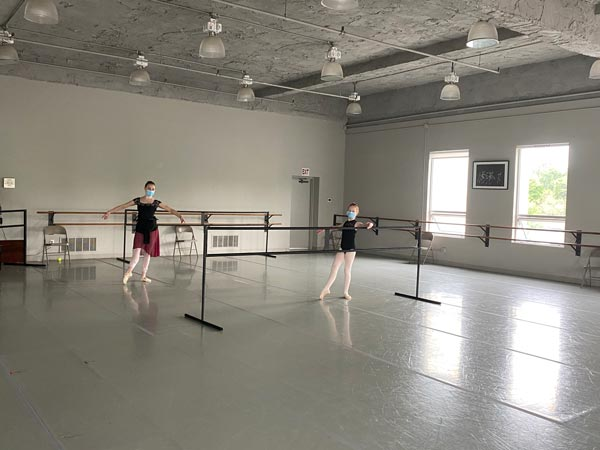 Princeton Ballet School Studios Equipped With Air Purification Systems