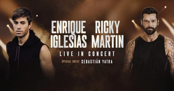 Enrique Iglesias and Ricky Martin To Do Shows in Philly, Newark, and NYC
