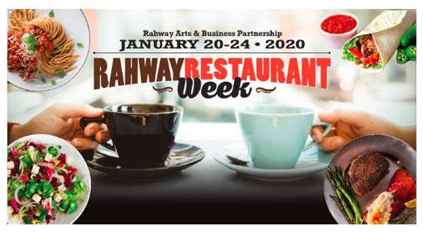 Rahway's Annual Restaurant Week Returns January 20-24