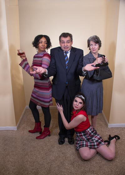 """Yardley Players Present """"Last Of The Red Hot Lovers"""" At Kelsey Theatre"""