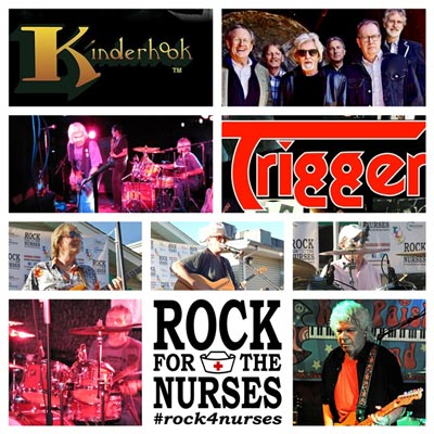 Kinderhook, Trigger headline Rock for the Nurses 10-Year Anniversary Fundraiser