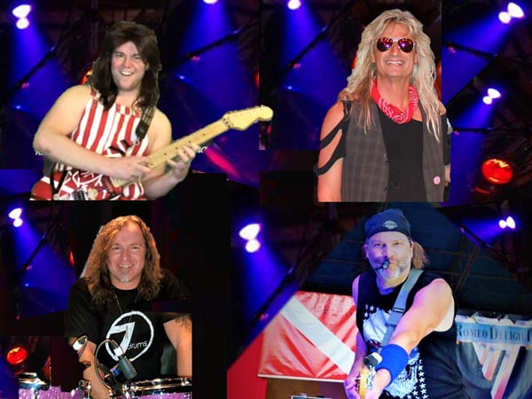 An Interview with Romeo Delight -- Van Halen Tribute Band