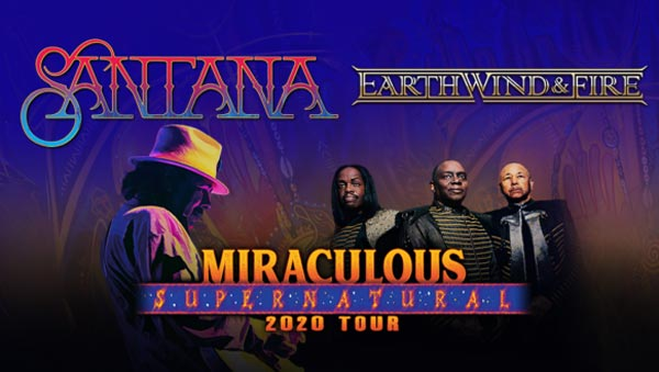 Carlos Santana and Earth, Wind & Fire To Perform Two Shows In New Jersey