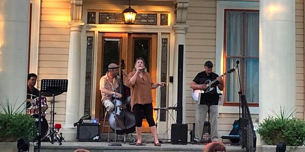 Jazz on the Porch with Suzanne Cloud Quartet In Collingswood