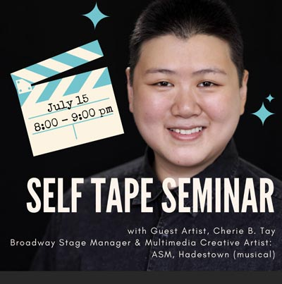 Lyceum Hall Center For The Arts Offers Self Tape Seminar and Audition Rep Overhaul Workshop