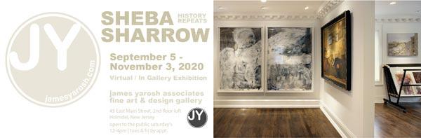 "James Yarosh Associates Fine Art & Design Gallery presents Sheba Sharrow - ""History Repeats"""