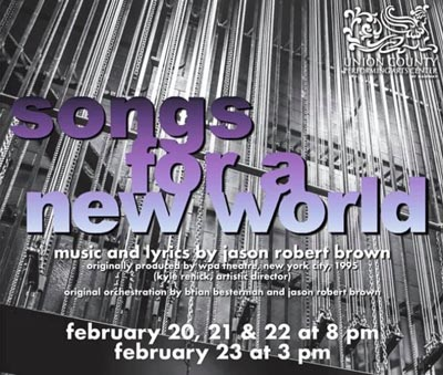 """""""Songs For A New World"""" by Jason Robert Brown at UCPAC"""