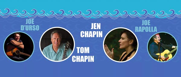 Songwriters By The Sea Returns to Monmouth University With Tom and Jen Chapin
