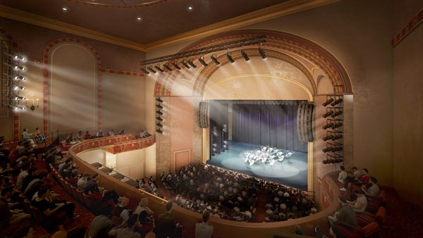 State Theatre New Jersey Announces Plans for Extensive Renovations