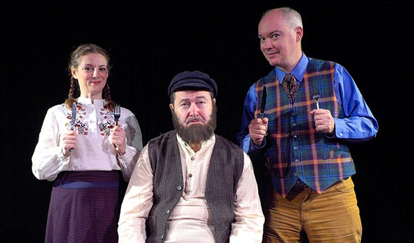 "Centenary Stage Company Presents ""Tevye Served Raw: Garnished With Jews"""
