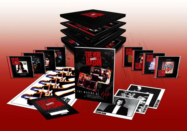 "Trevor Rabin To Release ""Changes"" 10 Disc Box Set"