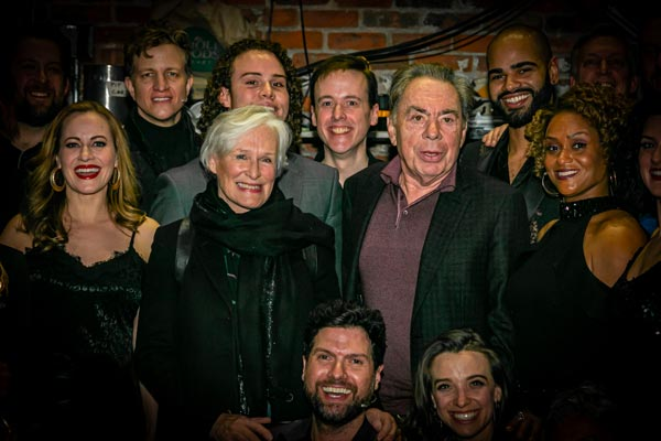 "Glenn Close and Andrew Lloyd Webber Attend ""Unmasked"" at Paper Mill Playhouse"