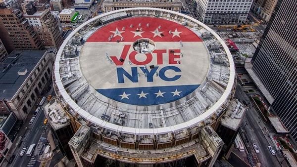 Madison Square Garden To Serve As Early Polling And Election Day Polling Site