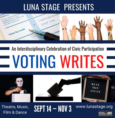 Luna Stage Continues Voting Writes Project Throughout October