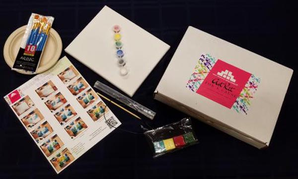 West Windsor Arts Council Creates Art Kits for a Cause
