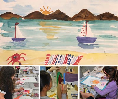 The Art School at Old Church Begins Summer Online and In Studio Art Instruction