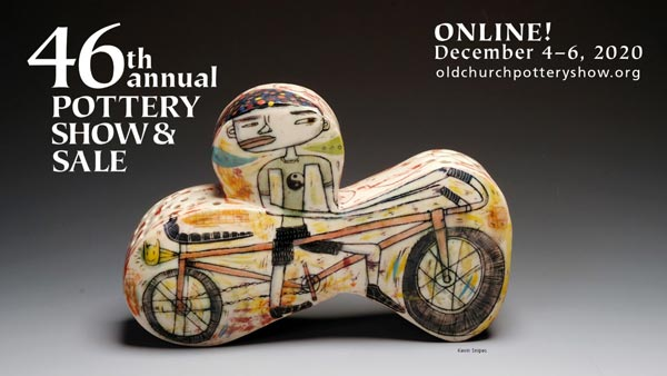 Art School at Old Church Hosts 46th Annual Pottery Show & Sale Online December 4-6