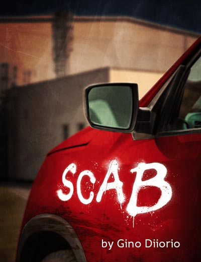 "Premiere Stages presents an online reading of ""Scab"" by Gino Dilorio"