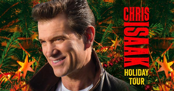 Chris Isaak To Play Count Basie Center for the Arts On November 30th