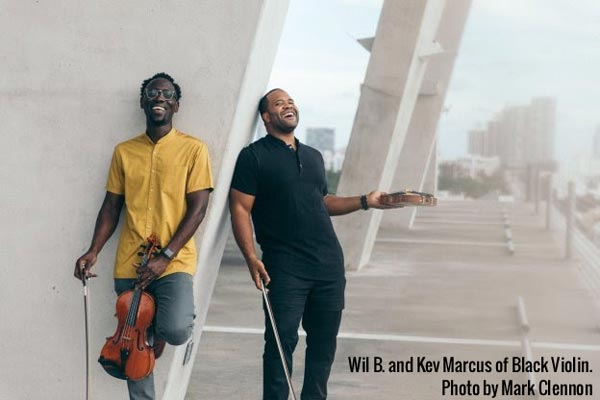 Kean Stage returns to live performances with Black Violin