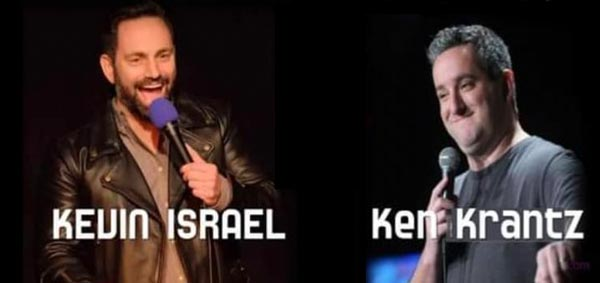 Comedians Kevin Israel and Ken Krantz To Perform At Brook Arts Center On October 22nd