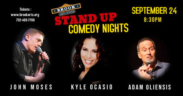 Brook Arts Center Presents Standup Comedy On September 24th