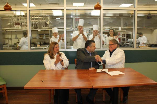 Chef David Burke Scholarship Creates A Unique Opportunity for Brookdale Students