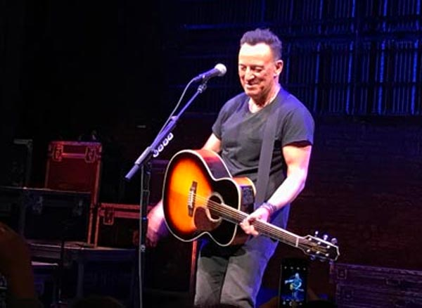 """""""Springsteen On Broadway"""" Returns For Limited Summer Run At The St. James Theatre"""