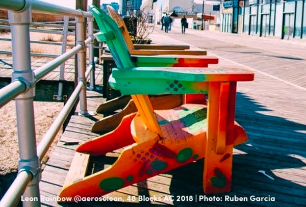 Applications For 2021 Adirondack Chairs by 48 Blocks Atlantic City; Deadline May 14