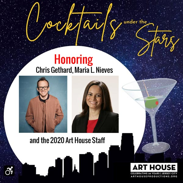 Art House and SILVERMAN present Cocktails Under the Stars on August 5th