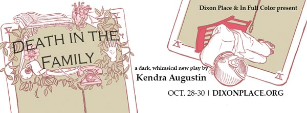 """In Full Color Presents """"Death In The Family"""" by Kendra Augustin"""